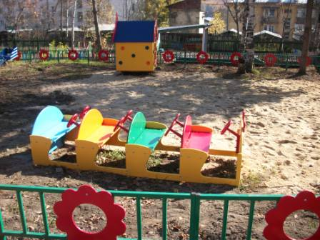 оснощение игровым оборудованием участков в ДОУ 028 - игровое оборудование на участках детского сада - Фотоальбомы - Персональный